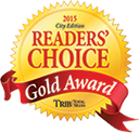 PIttsburgh Tribune Review Readers' Choice Gold Award Winner